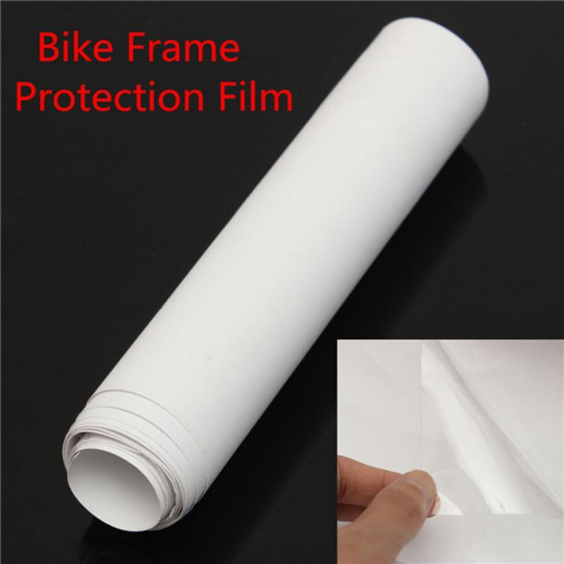 1pc 10015cm pvc bicycle frame protector rhino skin protector stickers decal cycling mtb bike protected resistant in bicycle stickers from sports