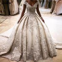 Newest Sexy Princess Ball Gown Wedding Bridal Bride Dress Gowns Dresses Turkey Vestido De Noiva Gelinlik Trouwjurk 2017
