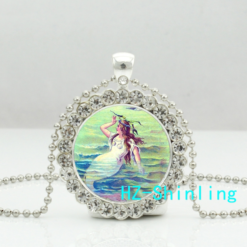 Online Buy Wholesale Silver Mermaid Jewelry From China