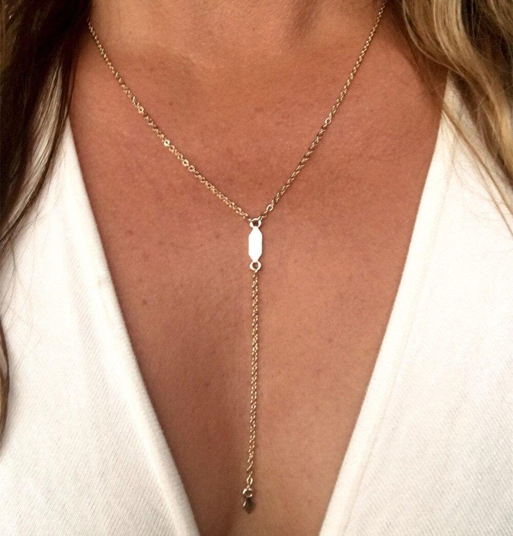 geometric tassel pendant neklace women fashion jewelry statement necklace colar feminino necklaces & pendants ras de cou