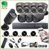 8pcs Full 720P1 MP AHD Camera 8CH Surveillance System AHD DVR KIT CCTV Video Recorder Home