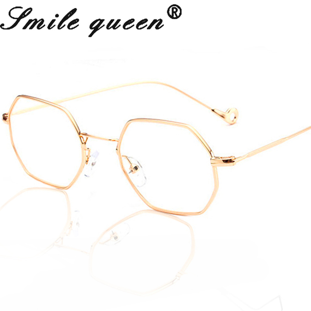 2017 New Square Octagon Steampunk Sunglasses Women Fashion Brand Designer Metal Frame Sun Glasses Men Optical Eyeglasses UV400