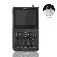 Rechargeable Portable Tool Excellent Sensitivity Digital Satellite Finder TV Signal HD Meter USB LCD For Satlink WS 6906