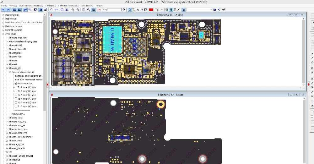 online zxwsoft zxwteam circuit diagram for iphone samsung htc lg ipad  logic board repair and diagnose