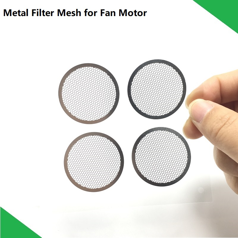 2pcs/lot New Fan Motor Metal Filtefor Mesh For Xiaomi Vacuum Cleaner Roborock S50 S51 S53 Assembly Spare Parts