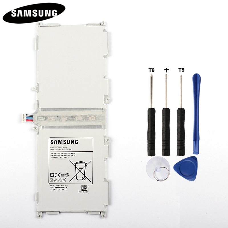 100% Original Tablet Battery EB-BT530FBC EB-BT530FBE For Samsung GALAXY Tab 4 T530 SM-T531 SM-T533 SM-T535 T535 SM-T537 6800mAh
