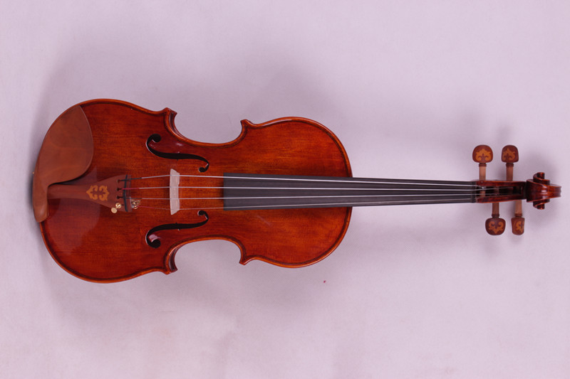 4 string 4/4 Violin Ebony parts Flame Maple Back Antique Varnish Spruce Master    Powerful Sound Pro#2 one red 4 string 4 4 violin electric violin acoustic violin maple wood spruce wood big jack color