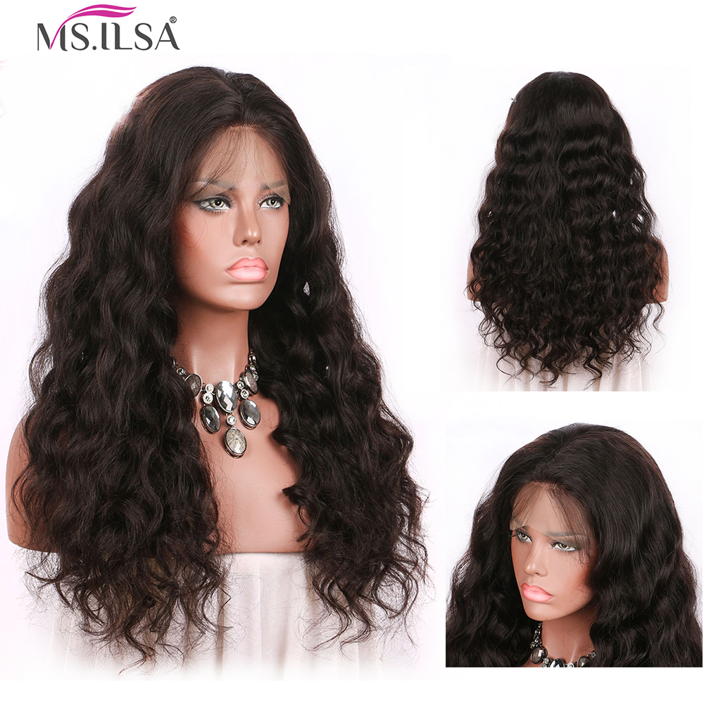 250 Density Body Wave Lace Front Human Hair Wigs For Women 13X6 Inch Body Wave Remy