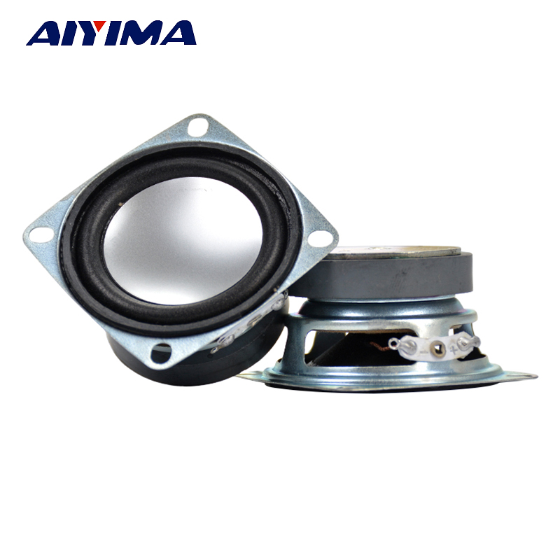 "Aiyima 2pcs 2"" Inch 4Ohm 3W Full Range Speaker For Mini Stereo Loudspeaker Box Diy Accessories"