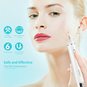 Image 2 - Plasma Pen Lcd Fibroblast Laser Pen Machine Mol Tattoo Remover Machine Huid Tag Verwijderen Spot Cleaner Dermografo Pen Plasma