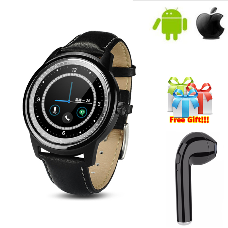 DM365 Smart Watch MTK2502A IPS Screen Bluetooth 4.0 SmartWatch For iphone IOS Android Phone wristwatch men women +free gift стоимость
