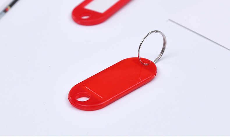 Número da Placa Do Cartão Anti-lost Chave Chaveiro Carro Pingente de Escrever o Nome Carta Cartão de Número de Telefone Chaveiro Cadeia Chave Do Carro decoração