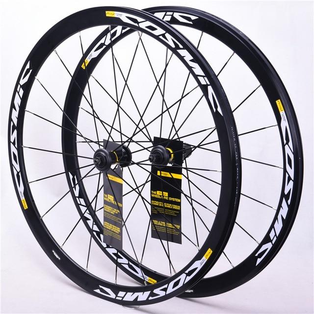 Superlight 700 C Road Bike Brake 40 MM Cosmic Elite Wheels BMX Bike Gear Wheelset Compatible For Shi Mano Compaglono Sram Disc