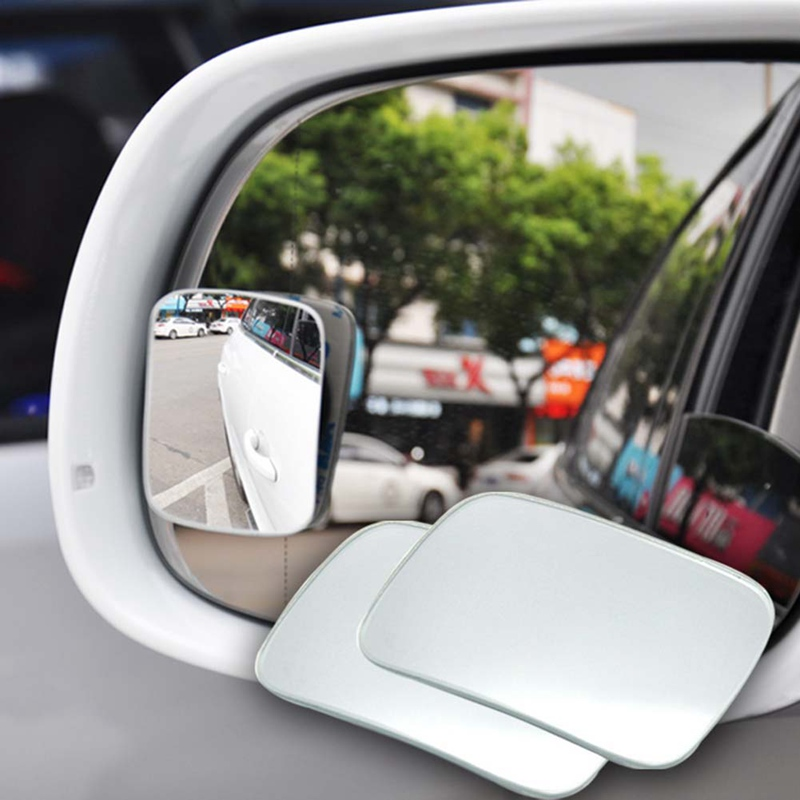 Car Stylin Side 360 Wide Angle Convex Mirror Mirror Small Mirror Spot Rearview RearView Universal Auto Car Vehicle Blind