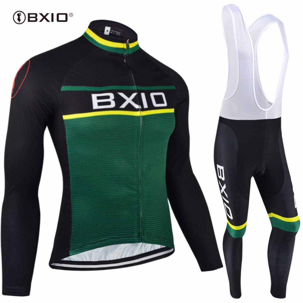 BXIO Winter Cycling Jersey Thermal Fleece Pro Team Bike Clothing Long Sleeves Bicycle Clothes Invierno Ropa Ciclismo Hombres 092 black thermal fleece cycling clothing winter fleece long adequate quality cycling jersey bicycle clothing cc5081