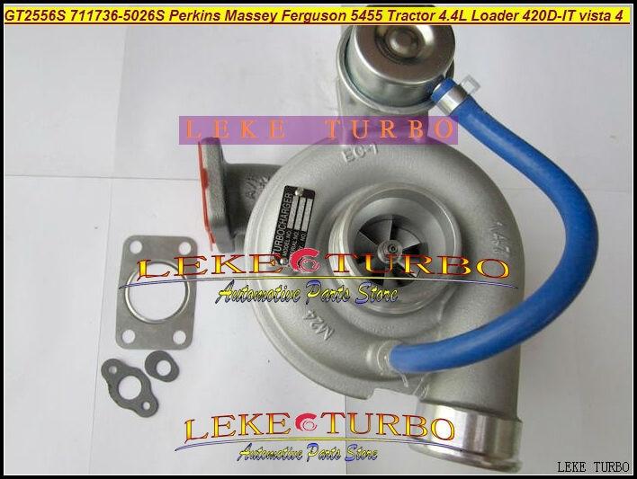 GT2556S 711736-5025S 711736 711736-0025 711736-0029 2674A225 Turbo For Perkin Tractor 4.4L Loader Backhoe 420D-IT vista 4 2003-
