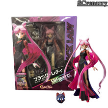 Anime SHF S.H.Figuarts Sailor Moon Black Lady 20th Anniversary PVC Action Figures Movable Model Toys Doll 15cm(China)