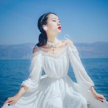 Женское винтажное платье белое кружевное с вырезом лодочкой