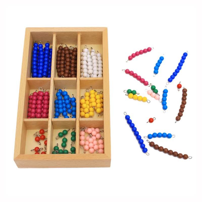 Kids Toys Montessori Educational Wooden Toy Colorful