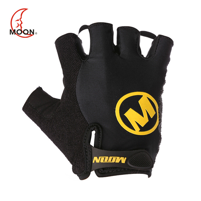 MOON High Quality Half Finger Cycling font b Gloves b font Breathable Outdoor Sports Bicycle font