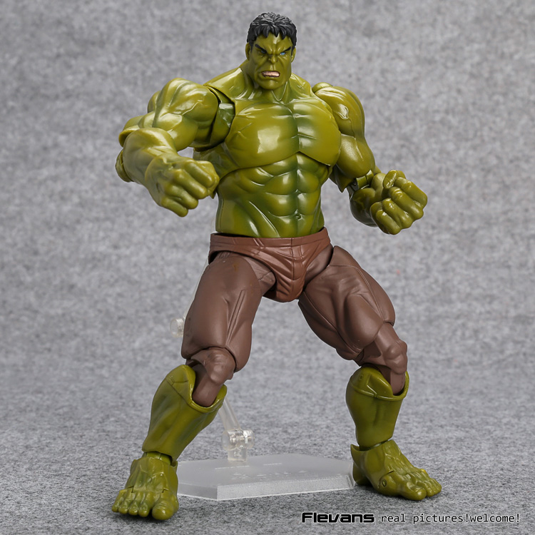 Avengers Hulk Figma 271 PVC Action Figure Collectible Model Toy 19cm anime cardcaptor sakura figma kinomoto sakura pvc action figure collectible model toy doll 27cm no box