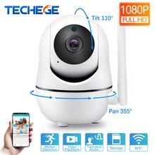 Techege 1080 P 720 P беспроводная камера IP умная Домашняя безопасность WiFi ip-камера WiFi Pan Tilt двухсторонняя Обсуждение ночного видения камера видеонаблюдения