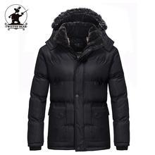 Новый мужской хлопок-мягкие одежды Мода Капюшоном Утолщенной Fleecce Ватные Куртки Мужчины Дизайнер Повседневная Плюс Размер Зимние Пальто D8F78