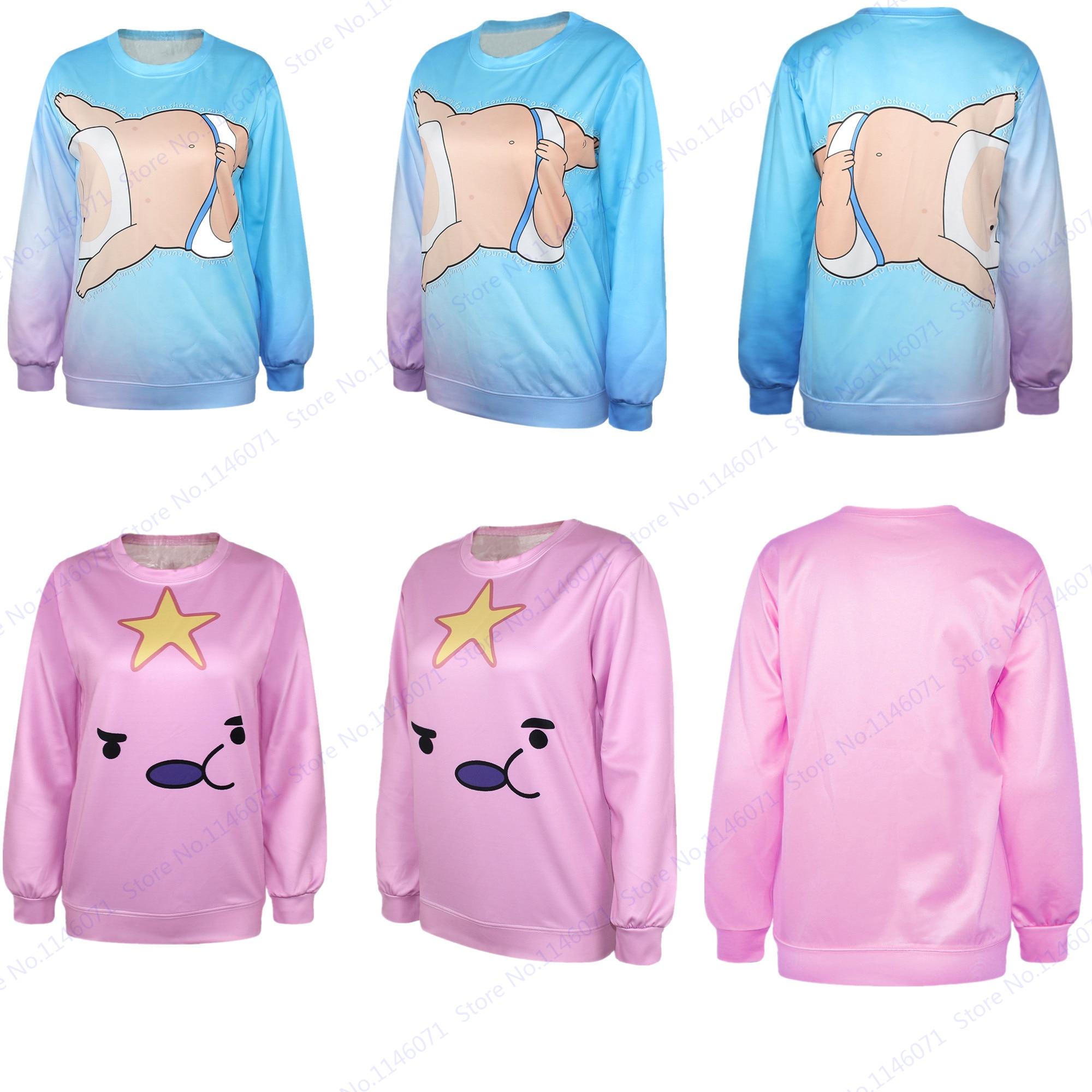 Lumpy Space Princess Sweatshirt Adventure Time With Finn