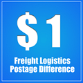 Extra fee for freight logistics postage difference dedicated link.