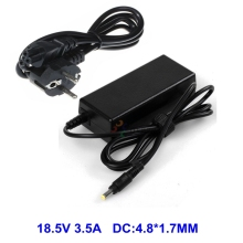 laptop Charger Adapter 18.5V 3.5A For HP Compaq nc6320 6200s nc6120 nc6230 NX6140 6720s CQ510 CQ610 ZT3000 ZT3400 With AC Cable