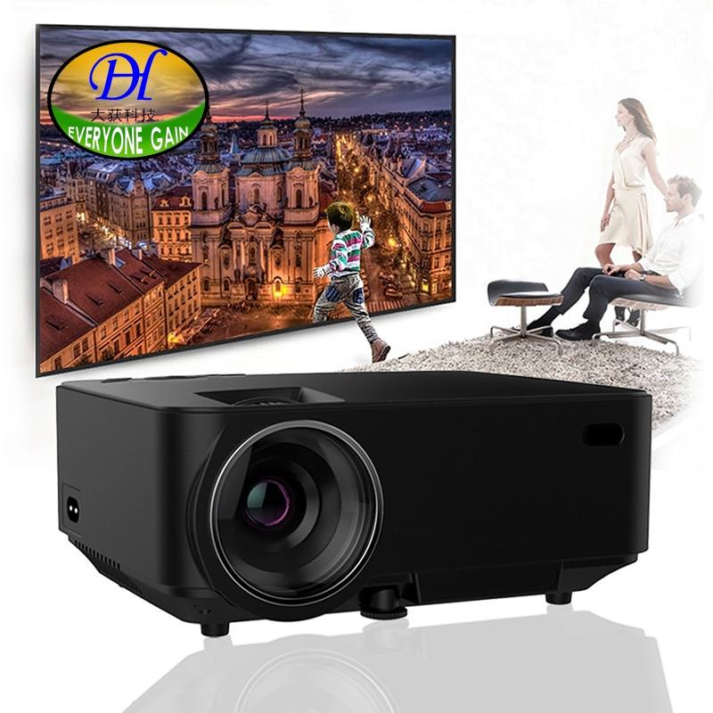 Semua orang Keuntungan 2000 lumens Projektor Android 4.4 HD LED Wifi - Audio dan video rumah - Foto 2
