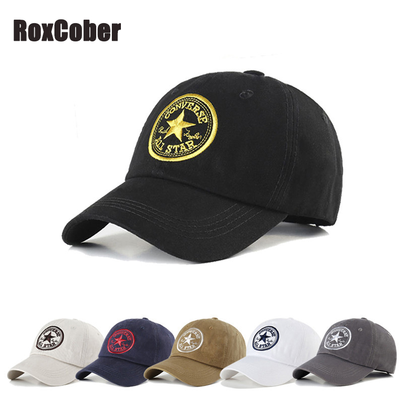 Roxcober Visors-Hat Snapback-Caps Embroidery Hip-Hop Outdoor Unisex Women Summer Gorras