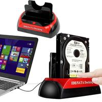 Cewaal Dual 2 5 3 5 IDE SATA HDD Hard Drive Disk Holder Base Dock Docking