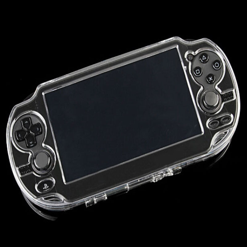 Clear Hard Case Transparent Protective Cover Shell Skin for Sony PlayStation Psvita PS Vita PSV 1000 Crystal Full Body Protector protective vinyl skin decal cover for ps vita psvita playstation vita portable sticker skins lightning storm