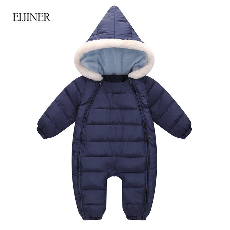 Winter Baby Clothing 2017 New Newborn Baby Boy Girl Romper Clothes Long Sleeve Infant Jumpsuits Fleece Warm Baby Boys Clothes new arrival newborn baby boy clothes long sleeve baby boys girl romper cotton infant baby rompers jumpsuits baby clothing set