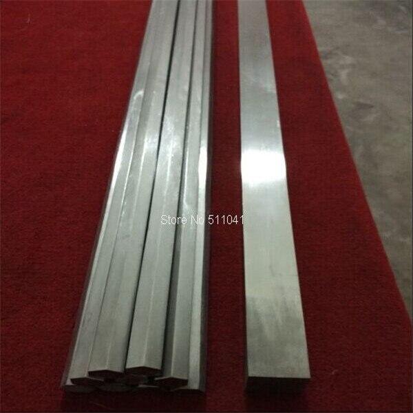 2 pièces Grade 5 Gr5Titanium solide barre carrée 40x40x1600mm long