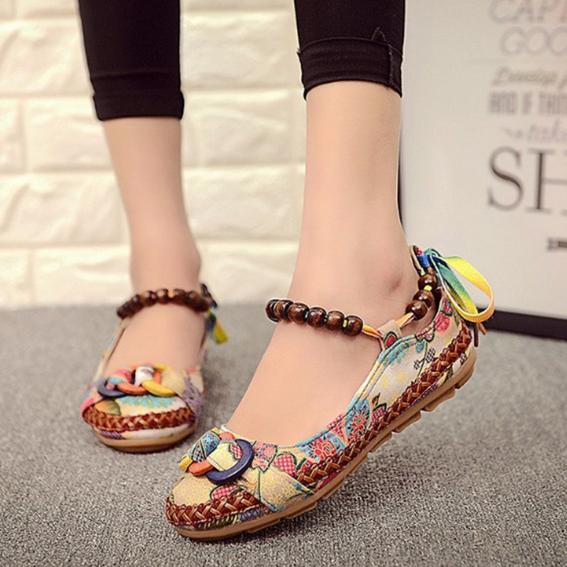 Spring Classic Loafers Women Flats Shoes Moccasins Flower Soft Round Toe Ladies Footwear Summer Women Casual Shoes Female DC23 yiqitazer 2017 new summer slipony lofer womens shoes flats nice ladies dress pointed toe narrow casual shoes women loafers