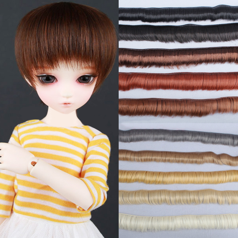 WIG SIZE 2-3 MOHAIR LONG BLACK BRAIDS WITH BANGS MINT IN PACK
