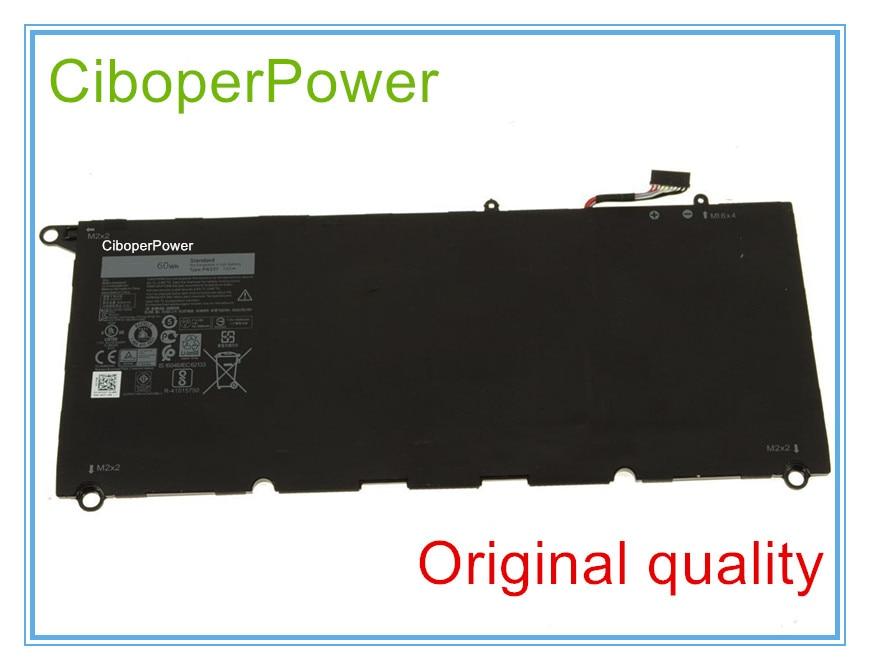 Original laptop battery 7.6V 60WH RNP72 0TP1GT PW23Y RNP72 TP1GT 13-9360-D1605G цены онлайн