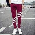2016 новые поступления мужские случайные хлопка брюки pantalon homme hombre спортивные штаны jogger брюки мужские брюки мужские 3xl 4xl 5xl homme