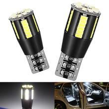 цена на 2pcs Canbus W5W T10 168 194 LED Clearance Parking Lights Bulbs For Kia Rio K2 K3 K5 K4 KX5 Cerato Soul Forte Sportage R Sorento