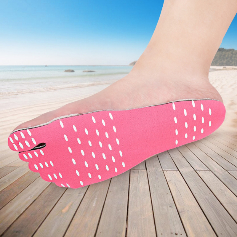 Beach Sock Waterproof Hypoallergenic Adhesive Pad For Walking Freely Sticker Shoes Stick On Soles Sticky Nakefit Foot Pads