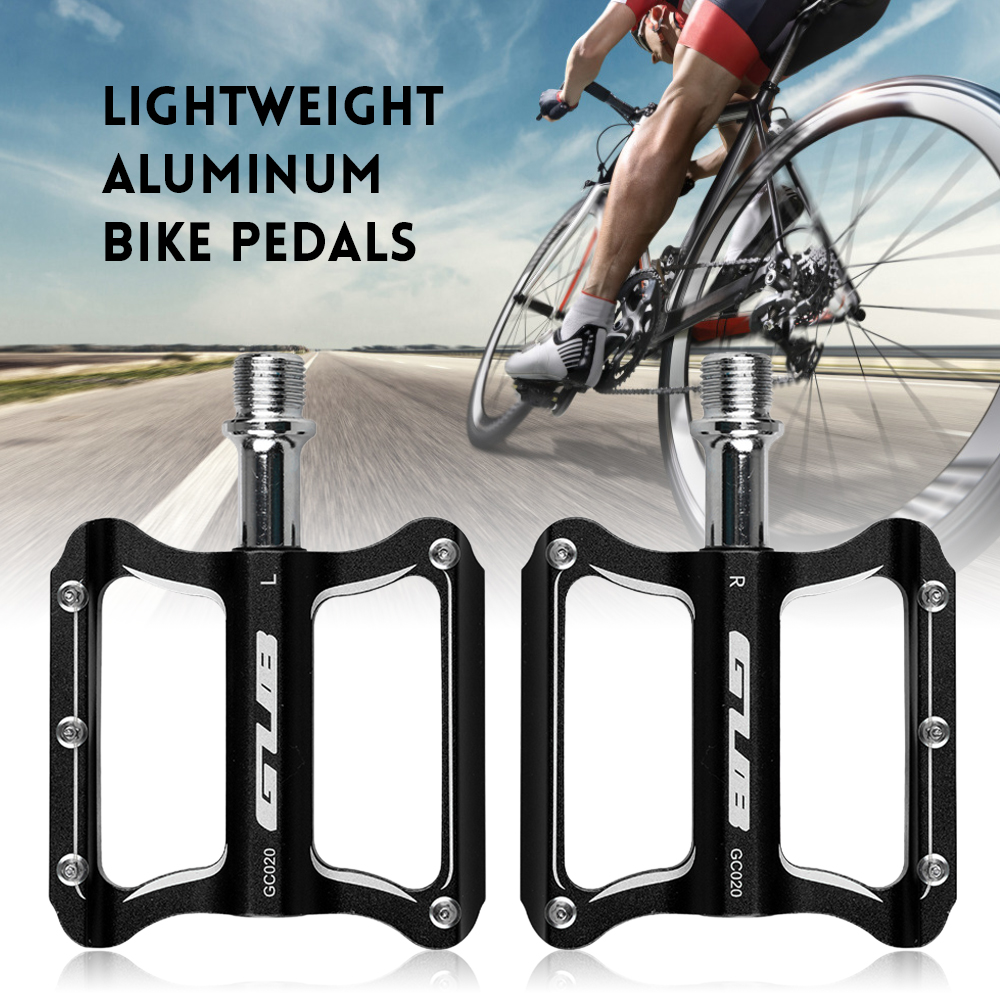 Bike Bicycle Pedals Aluminum sealed Bearings flat Platform Pedals Cycling Racing
