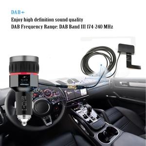 Image 5 - Автомобильный цифровой приемник DAB, интерфейс прикуривателя, Автомобильный приемник DAB, OLED дисплей, FM пусковое устройство, автомобильное зарядное устройство, цифровое радио