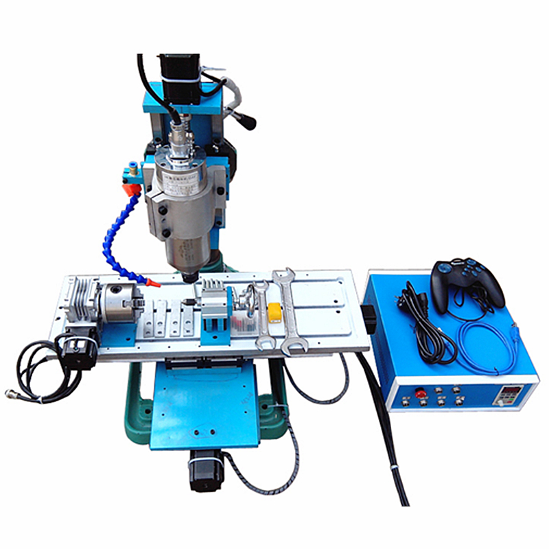 цена 4 axis vertical wood CNC router 1.5kW spindle Industrial version Metal PCB milling Machine онлайн в 2017 году