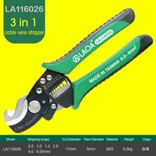 ТАЙВАНЬ LAOA SK5 Кабеля Для Зачистки Проводов Cutter Ножницы Материал 3 в 1 Многофункциональный Электрик плоскогубцы Резак Провода