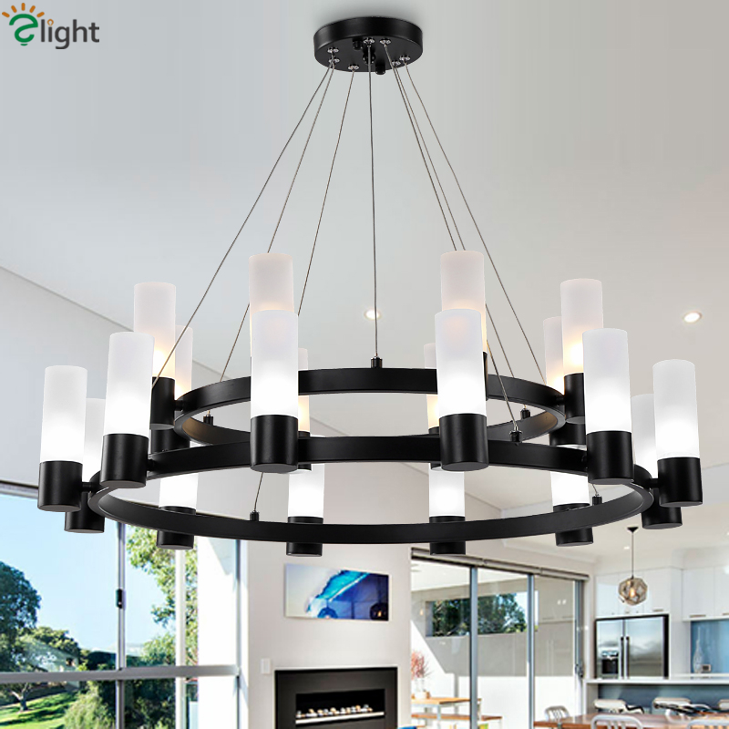 American RH Loft Retro Matte Black Metal Chandelier Lustre Luminaria G9 Led Chandelier Lighting For Foyer Pendant ChandelierAmerican RH Loft Retro Matte Black Metal Chandelier Lustre Luminaria G9 Led Chandelier Lighting For Foyer Pendant Chandelier