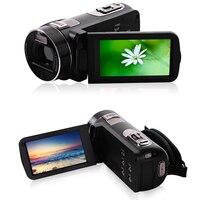Full HD 1080P Professional Digital Photo Cameras with Telescope 16X Video Recorder Mini Camcorder DV Anti shake Compact Camera