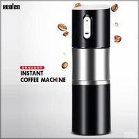 Xeoleoポータブルコーヒーマシンusb充電コーヒーグラインダーコーヒーメーカーコーヒー豆ミラーステンレス鋼のエスプレッソマシン