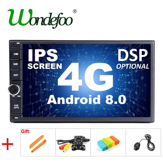 """DSP ips экран Android 8,1/8,0 Универсальный 2 din Автомобильный мультимедийный проигрыватель автомобиля радио 2din стерео 7 """"автомобиль плеер Автомобильный для nissan"""